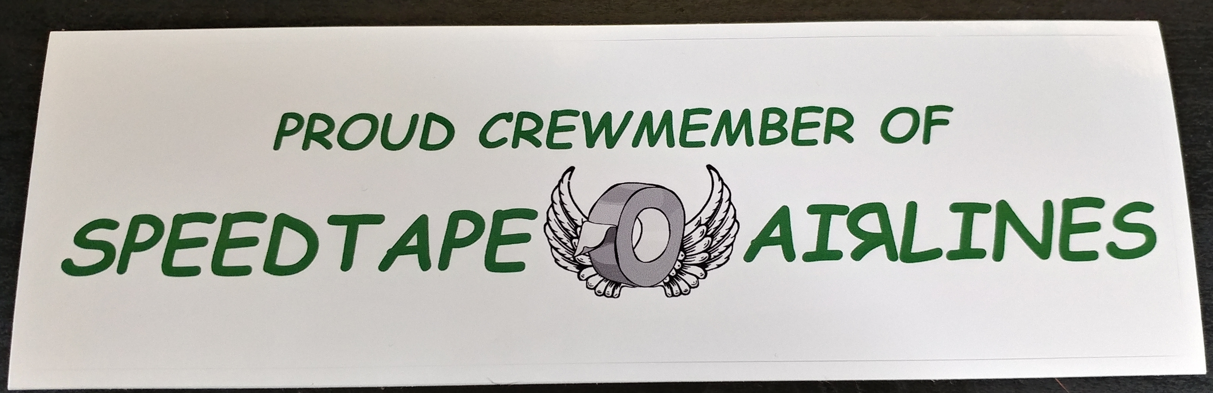 Crew Bag Sticker $5.99